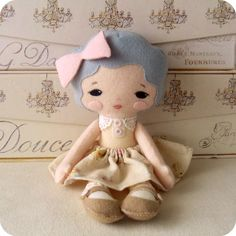 Sweetie Pie Doll pdf Pattern. This one is on my list to make next.