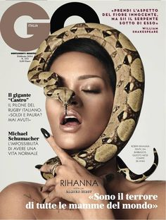 Rihanna - GQ Magazine Cover [Italy] (February 2014)