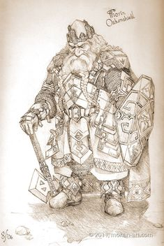 Random Fantasy/RPG artwork I find interesting,(*NOT MINE) from Tolkien to D&D. Tolkien, Fantasy Dwarf, Medieval Fantasy, Character Concept, Character Art, Concept Art, Vikings, Illustrations, Illustration Art