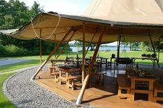 Giant teepee for every arrangement and every season │    Seehotel Töpferhaus   @toepferhaus #toepferhaus