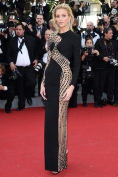 Festival de Cannes : Anja Rubik en Versace