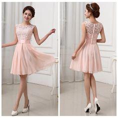 Chiffon Prom Dress,Short Prom Dress,Graduation Dress,Party Dress