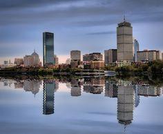 Boston Skyline | boston-skyline-hdr
