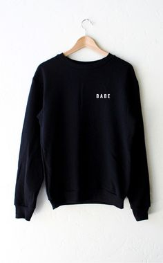NYCT Clothing Babe Sweater - Black
