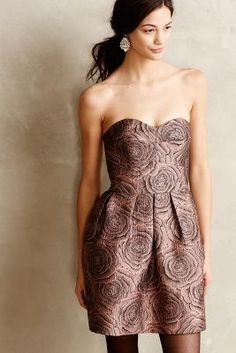 ON SALE Hutch Candy Rose Jacquard Dres. #AnthroFave
