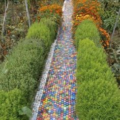 How to Recycle Plastic Bottles for Outdoor Home Decorating and Garden Design Many creative designs show how to recycle plastic bottles. Plastic recycling helps decorate house exteriors and add nice accents to garden design on a budget. Plastic bottles can Plastic Bottle Caps, Bottle Cap Art, Bottle Cap Crafts, Recycle Plastic Bottles, Plastic Recycling, Bottle Top, Kids Bottle, Beer Bottle, Recycling Ideas