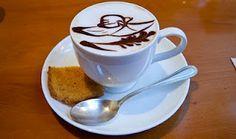 RHS Coffee art.