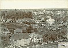 94-10.26 Daly Collection #13 Bird's Eye View of Cornwall, Ontario, Canada.