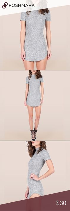 """☆ Knit Dress New Knit Dress. Love the fit of this! Wear it as is or pair it with distressed denims (listed in my closet). Stretchy soft material. Hem Detail. 48% Rayon 48% Polyester 4% Spandex. Model is wearing a size small. Height: 5'10 Bust: 33"""", Waist: 20"""", Hips: 34"""". Selling a size LARGE. But fits Medium to Large. // No trades. Ships daily Mon to Fri. """"Add to Bundle"""" 2+ items or ask me to bundle to save! Dresses"""