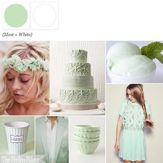 Mint to Be  http://www.theperfectpalette.com/2012/02/mint-to-be-palette-of-mint-white.html