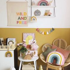 Mustard yellow nursery - Mustard yellow nursery decor + fiber rainbow from PeAC. Mustard yellow nursery – Mustard yellow nursery decor + fiber rainbow from PeACH & aPRICOT –
