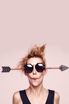Alternative Fit Moon Disco Black - All Eyewear Collections | Karen Walker
