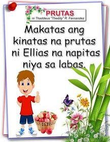 Teacher Fun Files: Tagalog Reading Passages 8 Phonics Reading, Visual Aids, Tagalog, Reading Passages, Picture Cards, Kindergarten Teachers, Best Teacher, Filipino, Homeschool