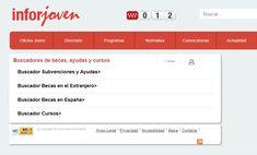 Buscador de #becas #ayudas y #curso #inforjoven Maps, Studio