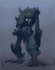 Those were the Fading Years; many things of beauty and wonder remained on earth in that time, and many things also of evil and dread. Orcs there were and trolls and dragons and fell beasts, and strange creatures old and wise in the woods, whose names are forgotten.