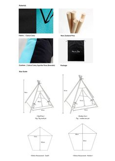 Huts&Bay Cute Blue Handmade Teepee Tent Cat Teepee by HutsandBay Cat Teepee, Cat Tent, Cat Hammock, Teepee Tent, Cool Dog Houses, Pet Furniture, Furniture Projects, Cat Room, Kids Room Design