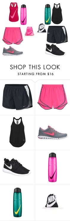"""Gym class w/Hailey"" by explorer-14484921021 on Polyvore featuring NIKE"