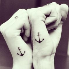 Anchor tattoos ⚓
