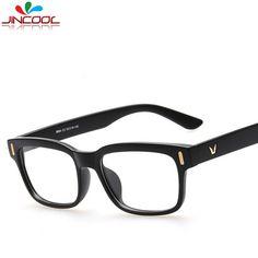 JinCool 2016 Vintage Square Frame Glasses Women Brand Eyeglasses Frames  Optical Myopia Glasses Frame Men Oculos de grau Gafas  Affiliate df50ce8399