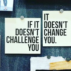 You won't learn much by doing the same old thing you're comfortable with. Challenge yourself!  #challengeyourself #success #motivation #quote