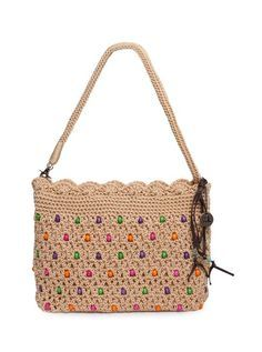 The Sak Classic Mini 3-In-1 Clutch, Bamboo with Wood Beads