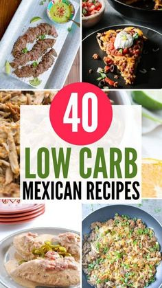 Low Glycemic Diet, Low Carbohydrate Diet, Keto Crockpot Recipes, Low Carb Recipes, Slow Cooker Recipes, Mexican Dessert Recipes, Mexican Dishes, Low Carb Menus, Low Carb Keto