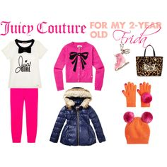 "2 years old Toddler Girl set ""Juicy Couture for a toddler girl!"" by mammba on Polyvore"