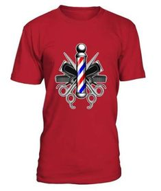 Barbers Pole With Crossed Scissors And Hair Clippers T shirt barber shirt, barber mug, barber gifts, barber quotes funny Cheap Shirts, Cool T Shirts, Funny Tees, Funny Tshirts, Tattoo P, Barber Gifts, Trendy Hairstyles, Tshirts Online, Cool Designs