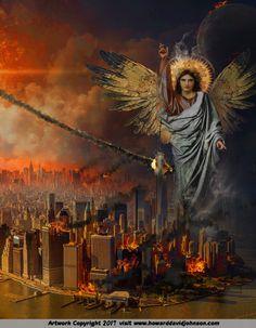 Catholic Art, Religious Art, Angelic Symbols, Heaven Art, Babylon The Great, Graffiti Wall Art, Bride Of Christ, Prophetic Art, Biblical Art
