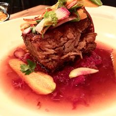 Wild boar confit from the one and only @daidue @eateraustin @austineatsfoodtours @cookingchannel
