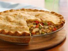 Pilsbury chicken pot pie. Super easy!! Since it takes an hour to make I would probably make and freeze, thaw in the fridge on the morning I wanted it for dinner.