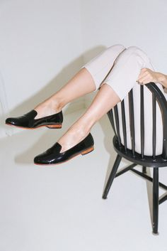 Limited Edition Patent Leather Smoking Shoe   http://nisolo.co/patent