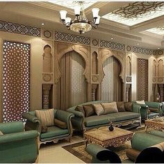 What Wonderfully Fantastic Glamor Living Room Ideas Is - and What it Is Not - targetinspira Moroccan Decor Living Room, Moroccan Room, Moroccan Interiors, Home Room Design, Home Interior Design, Living Room Designs, House Design, Arabian Decor, Islamic Decor