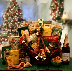 The Holiday Entertainer Gift Basket- Send warm tidings of comfort and joy to dear friends and beloved family members no matter where they re spending this holiday season. Inside this attractive market basket they ll discover a bounty of thoughtful de Christmas Chocolate, Chocolate Gifts, Chocolate Basket, Chocolate Cookies, Cheer Gifts, Holiday Gifts, Christmas Gifts, Christmas Candy, Holiday Ornaments