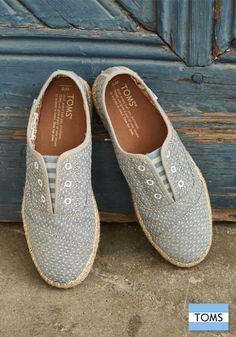 Head out with a little pep in your step with TOMS new arrivals.