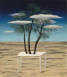 René Magritte - L'oasis, 1926.