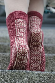Ravelry: Neulistimnk's Stage V - - Diy Crafts - hadido Diy Crochet And Knitting, Crochet Socks, Knitting Stitches, Knitting Socks, Hand Knitting, Knitted Hats, Wool Socks, My Socks, Laine Rowan