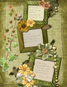 Scrapbook of Bible Memory & Handwriting Practice (Free!) | Digital Scrapbooking Blog