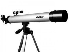 Telescópio Vivitar VIVTEL50600 Lente 46mm - com Tripé