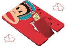 Paul Frank usb-card voor onder de kerstboom! Op zoek naar een bijzonder, origineel en handig kerstcadeautje? Deze usb-card van Paul Frank met 8 GB geheugen is heel leuk om te geven voor kerst! Of om te krijgen natuurlijk smile-emoticon. Hij is voor 7,95 euro te koop op www.kinderpostzegels.nl/bestellen. En je kunt er al je kerstfoto's op kwijt. Met jouw aankoop steun je kwetsbare kinderen in Nederland en het buitenland. Namens deze kinderen: veel dank!