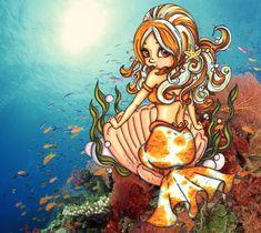 mermaid pin ups | Mermaid pin up by *JadeDragonne on deviantART
