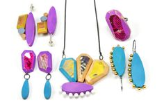 Artist: Tara Locklear POPRoxx Collection | 2013 | recycled skateboards. holly wood. sterling silver. pins. pigment.