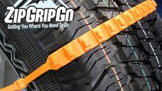 ZipGripGo can be added to the wheels of most any passenger car in minutes, without tools, instantly freeing stuck vehicles.