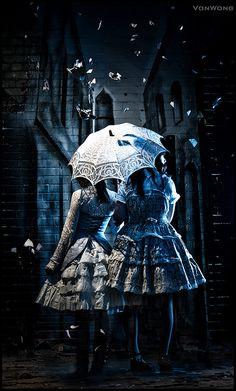 Blue Girls - Lolita Fantasies by Von Wong, via Flickr