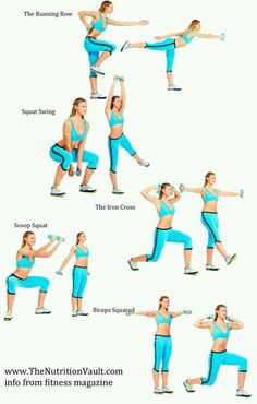 Arm workout. Feel the burn!