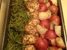 Green Beans,Chicken breasts and Red Skin Potatoes Most Addictive