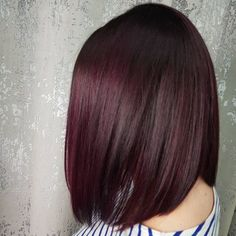 Mulled Wine Winter Hair Color Trend | POPSUGAR Beauty