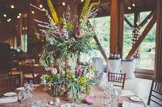 Image result for wild flower wedding centrepieces