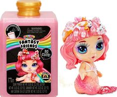 "Free 2-day shipping on qualified orders over $35. Buy Poopsie Rainbow Surprise Fantasy Friends That Spit Sparkly Slime and Toot Glitter (6"" Doll) at Walmart.com Sparkly Slime, Glitter Slime, New Kids Toys, Toys For Girls, Lol Dolls, Cute Dolls, Slime Kit, Princess Toys, Rainbow Magic"