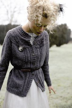 Frosty pattern by Sarah Hatton for Rowan 58